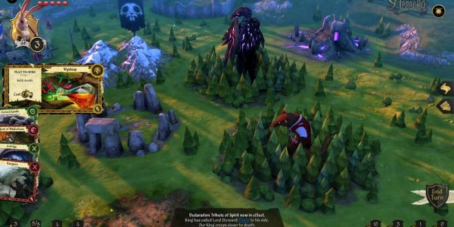 Digital Board Game Armello Coming To PS Load The Game - Digital board game table