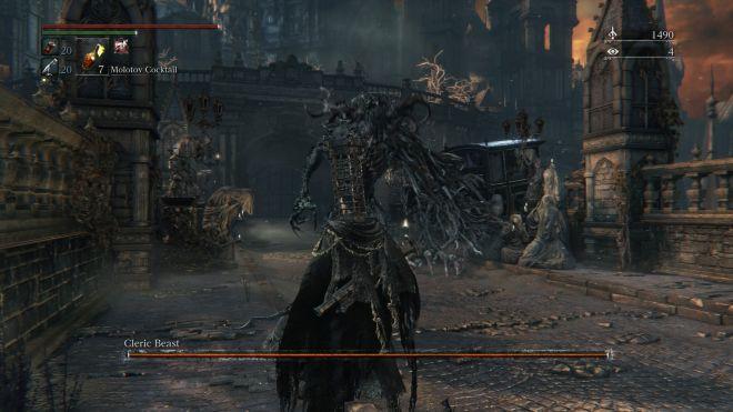 Bloodborne-Cleric Beast