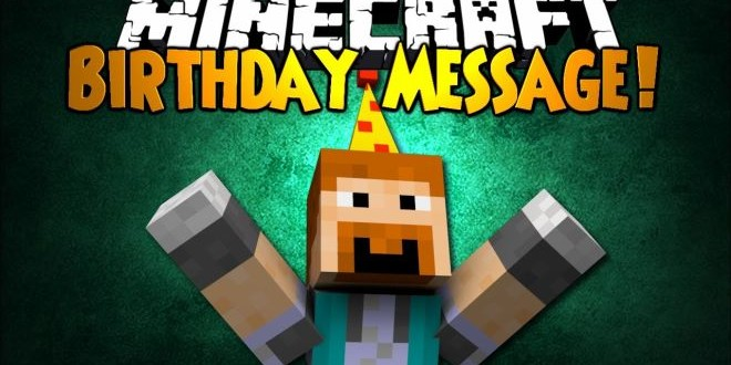Happy Birthday Minecraft Free Skins For Xbox Consoles Load The Game - Skins para minecraft ps3 gratis