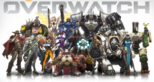 A lineup of Overwatch Heroes