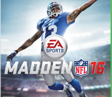 Odell Beckham Jr. on Madden NFL 16 Cover