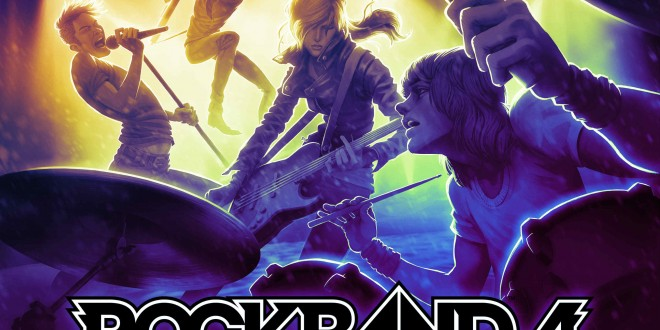 Rock Band 4 Poster