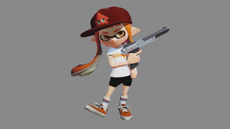 WiiU_Splatoon_artwork_N-ZAP85_Girl