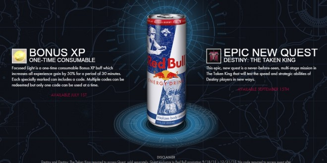 Destiny: The Taken King Red Bull Promotion