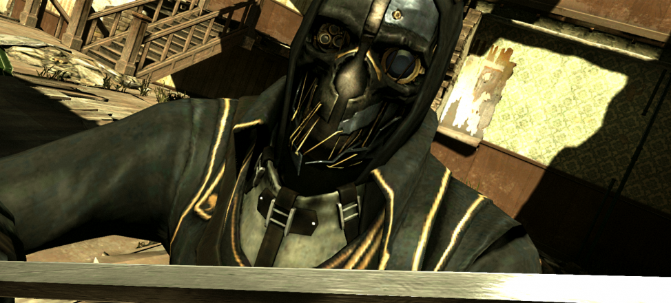 The protagonist of Dishonored, Corvo Attano