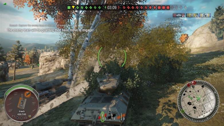 If you like shrubbery, then you'll love World of Tanks