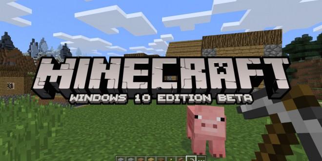Windows 10 Minecraft Beta