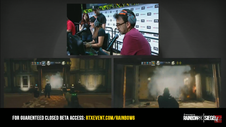 Gus and the Extra Life team try and take a more direct approach by breaching the main entrance.