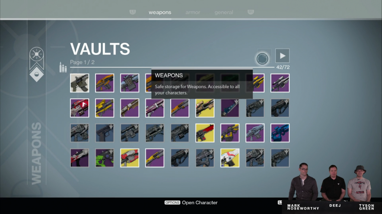 Now with enough space for 72 Gjallarhorns!