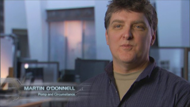 Marty O'Donnell, back when times were better with Bungie.