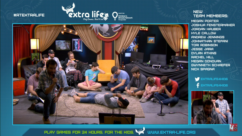 The stream plays a game Werewolf in the town of Jack's Beard, USA. Kyle dies immediately