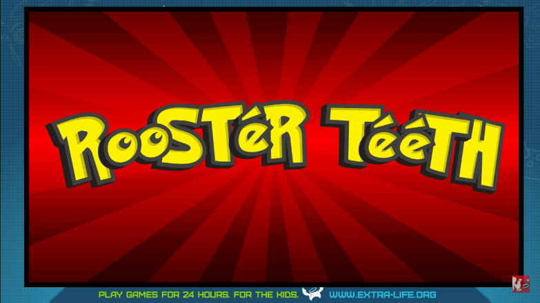 A glimpse of the theme that Rooster Teeth is going with for this year's Extra Life exclusive poster