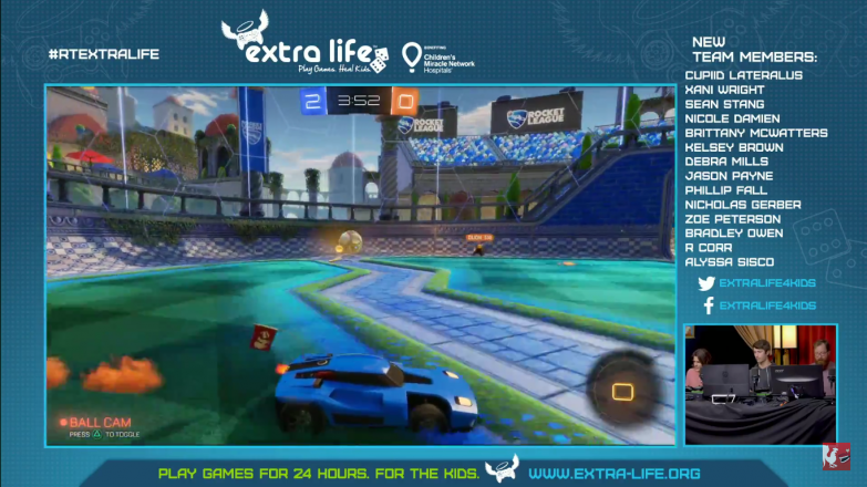 Jack jumps into a game of Rocket League with Jon Risinger and Tim