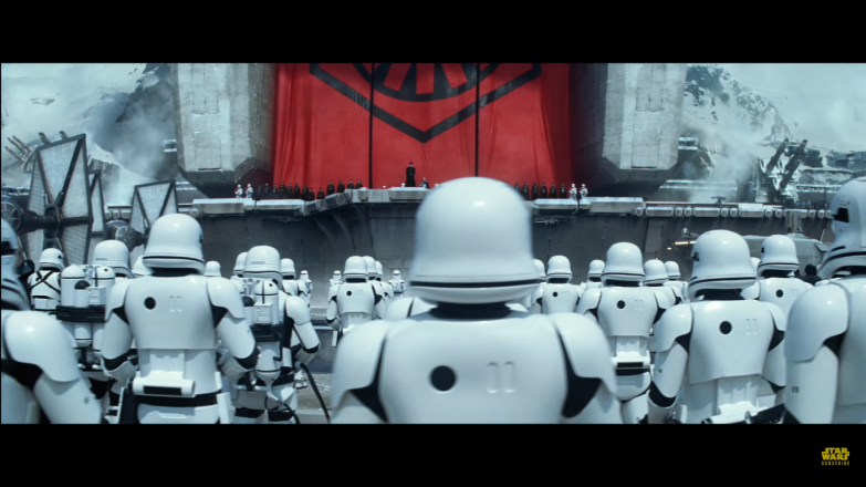 The First Order: not overly fond of subtlty