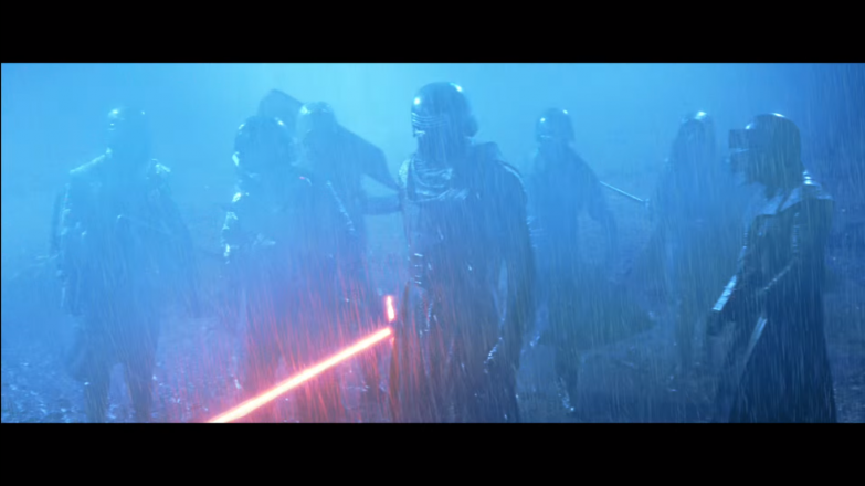 Kylo Ren and his fellow Knights of Ren