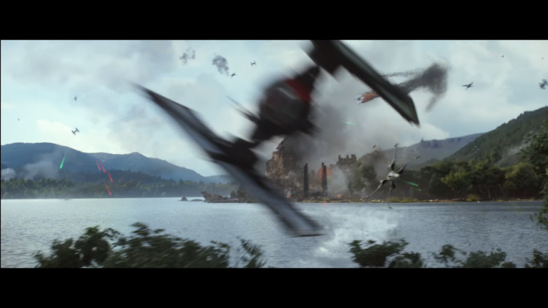 Apparently, swivel turrets on TIE fighters are pretty common