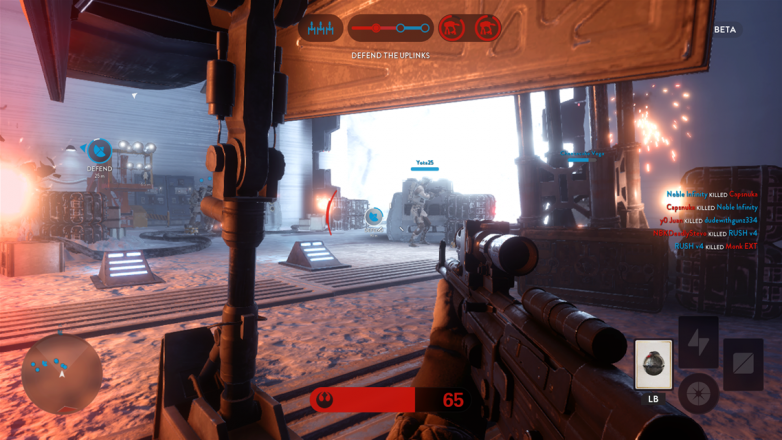 Not much else that the Rebels can do other than bunker down and hide when there are all those walkers outside