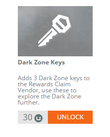 Ooh, three keys for someone to steal once they murder you in the Dark Zone!