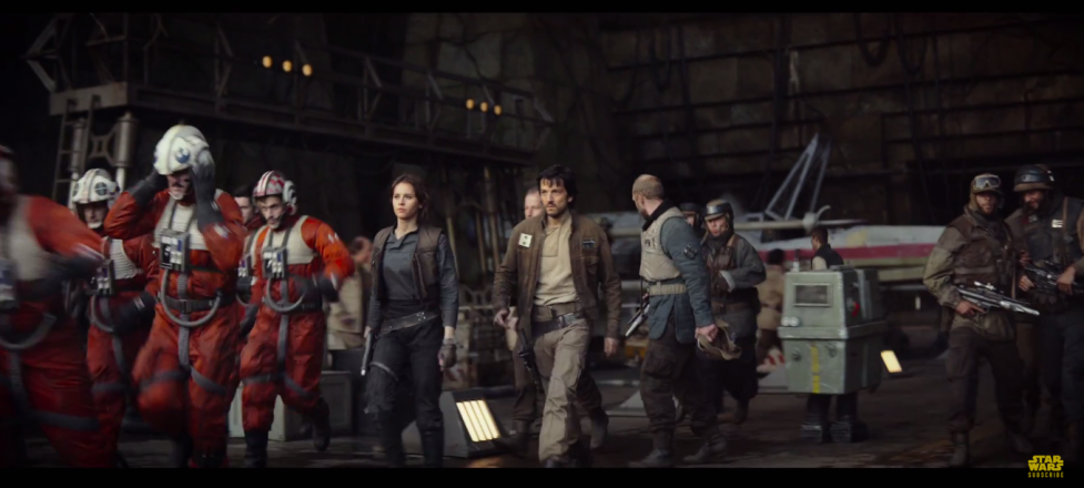 Jyn's outfit even resembles Han's, although to be fair, clothing options under the Empire is likely to be limited
