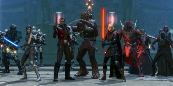 Star Wars the Old Republic !