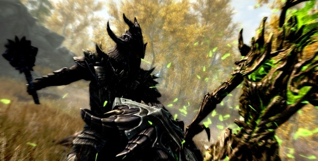 bethesda releases redesigned skyrim footage