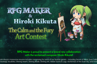 Hiroki Kikuta Degica RPG Maker Artwork Contest Music Album