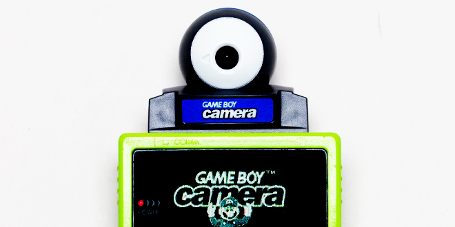 Gameboy camera printer