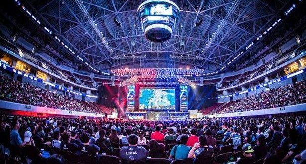 Esports games hall