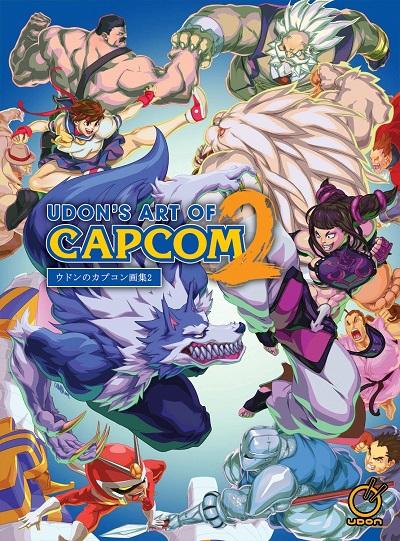 UDON Art of Capcom 2 cover