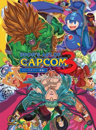UDON Art of Capcom 3 cover