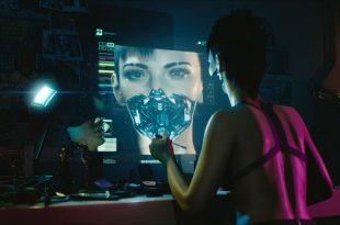 Cyberpunk 2077 girl