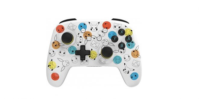 Pokemon Expressions Wireless Switch controller