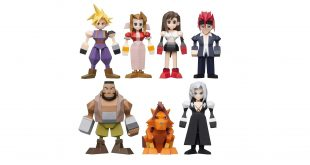 final fantasy 7 polygon figures