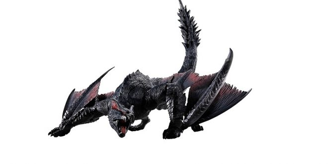 Monster Hunter Nargacuga MonsterArts action figure