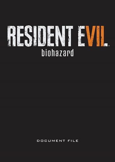 resident evil 7 document file book details