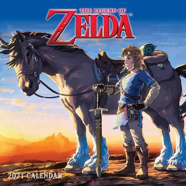 Legend of Zelda 2021 calendar