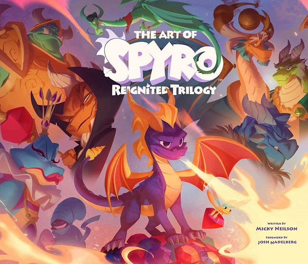 art of spyro reignited trilogy