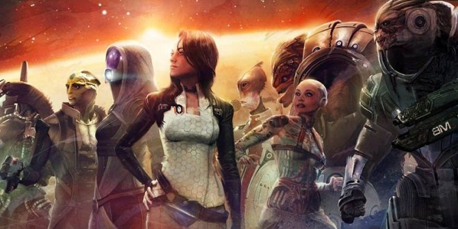 Mass Effect Trilogy characters