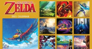The Legend of Zelda wall calendar 2021