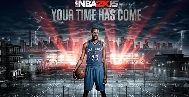 You can input yourself in NBA 2K15 through Facial Scan ...